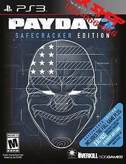 ORIGINAL PAYDAY 2 SAFECRACKER za Playstation 3 PS3
