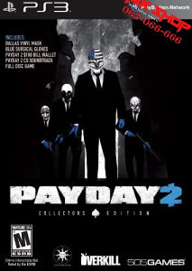 ORIGINAL IGRA PAYDAY 2 COLLECTORS Playstation 3 PS3