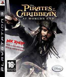 PIRATES OF THE CARIBBEAN WORLDS END Playstation 3 PS3