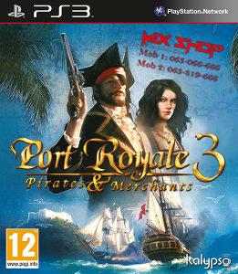 PORT ROYALE 3 PIRATES & MERCHANTS Playstation PS3