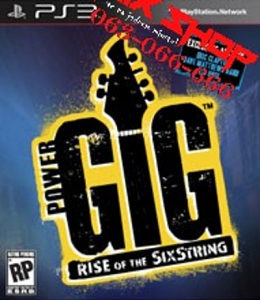 POWER GIG RISE OF THE SIXSTRING za Playstation 3 PS3