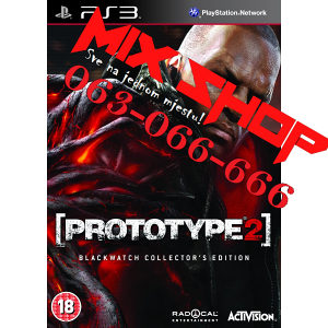 ORIGINAL PROTOTYPE 2 BLACKWATCH za Playstation 3 PS3