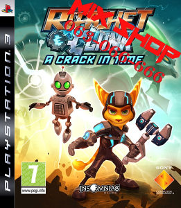 RATCHET i CLANK A CRACK IN TIME za Playstation 3 PS3