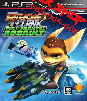 RATCHET i CLANK FULL FRONTAL ASSAULT Playstation 3 PS3