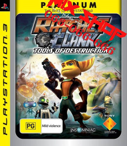 RATCHET i CLANK TOOLS OF DESTRUCTION Playstation 3 PS3