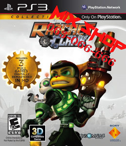 ORIGINAL RATCHET i CLANK COLLECTION Playstation 3 PS3