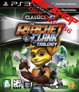 ORIGINAL IGRA RATCHET i CLANK TRILOGY Playstation 3 PS3