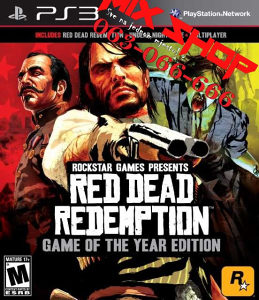 RED DEAD REDEMPTION GAME OF THE YEAR Playstation 3 PS3