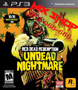 RED DEAD REDEMPTION UNDEAD NIGHTMARE Playstation 3 PS3