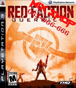 ORIGINAL RED FACTION GUERRILLA za Playstation 3 PS3