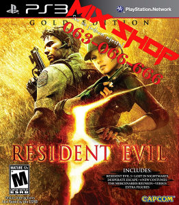 *ORIGINAL IGRA* RESIDENT EVIL 5 za Playstation 3 PS3