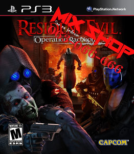 RESIDENT EVIL OPERATION ROCCON CITY Playstation 3 PS3