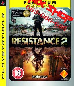 ORIGINAL IGRA RESISTANCE 2 PLATINUM Playstation 3 PS3