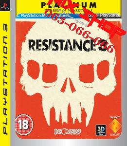 ORIGINAL IGRA RESISTANCE 3 PLATINUM Playstation 3 PS3