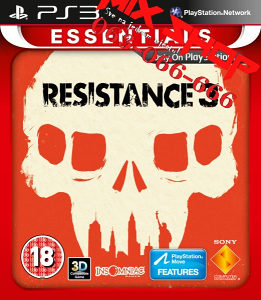 ORIGINAL RESISTANCE 3 ESSENTIALS Playstation 3 PS3