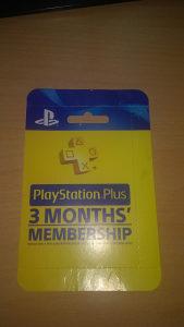 Playstation PSN Plus kartica za 3 mjeseca