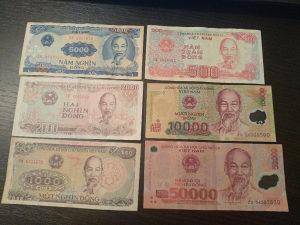 novčanice Vietnam