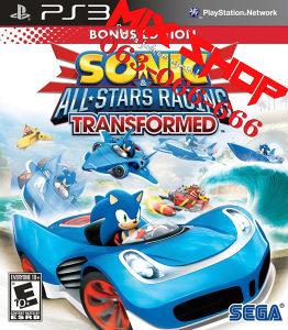 SONIC SEGA ALL STARS TRANSFORMED za Playstation 3 PS3