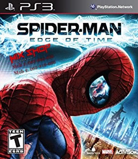 ORIGINAL IGRA SPIDRMAN EDGE OF TIME Playstation 3 PS3