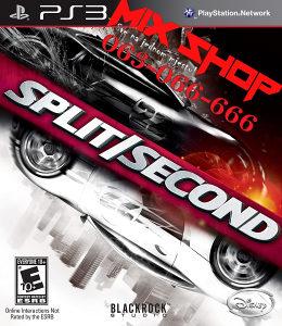 ORIGINAL IGRASPLIT SECOND BLACKROCK Playstation 3 PS3
