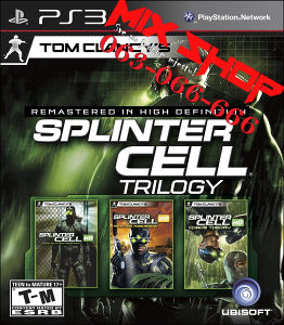 ORIGINAL SPLINTER CELL TRILOGY HD za Playstation 3 PS3