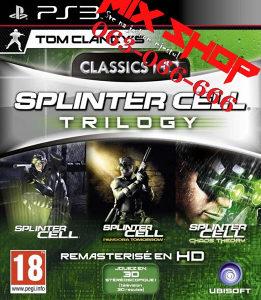 ORIGINAL IGRA SPLINTER CELL TRILOGY Playstation 3 PS3