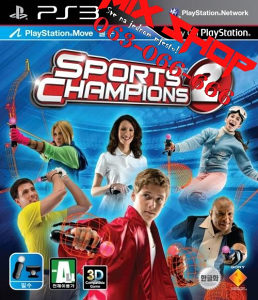 ORIGINAL SPORTS CHAMPIONS 2 MOVE za Playstation 3 PS3