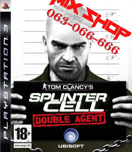 ORIGINAL SPLINTER CELL DOUBLE AGENT Playstation 3 PS3