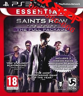 ORIGINAL SAINTS ROW 3 ESSENTIALS Playstation 3 PS3
