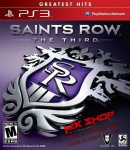 ORIGINAL SAINTS ROW 3 ESSENTIALS za Playstation 3 PS3