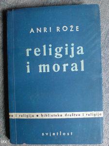 RELIGIJA I MORAL - Anri Rože *** R A R I T E T ***
