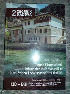 TEME I KONTEKSTI ISLAMSKE DUHOVNOSTI...