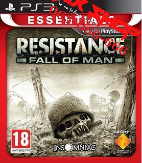 RESISTANCE FALL OF MAN ESSENTIALS Playstation 3 PS3