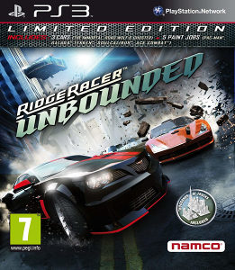 RIDGE RACER UNBOUNDED LIMITED za Playstation 3 PS3