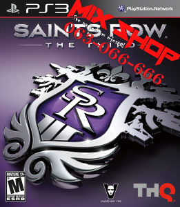 *ORIGINAL SAINTS ROW THE THIRD za Playstation 3 PS3