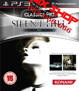 ORIGINAL SILENT HILL HD COLLECTION Playstation 3 PS3