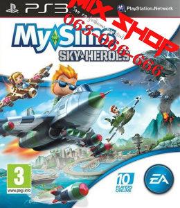 *ORIGINAL IGRA* MY SIMS SKY HEROES za Playstation 3 PS3