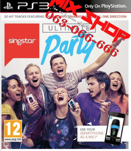 ORIGINAL SINGSTAR ULTIMATE PARTY za Playstation 3 PS3