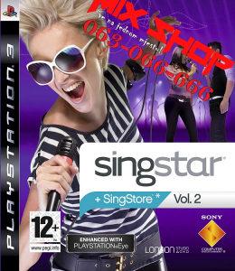 SINGSTAR + SINGSTORE VOL 2 za Playstation 3 PS3