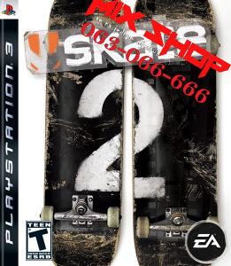 SKATE 2 SKEJT SKATEBOARD za Playstation 3 PS3