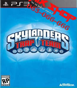 ORIGINAL IGRA SKYLANDERS TRAP TEAM Playstation 3 PS3