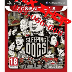 ORIGINAL SLEEPING DOGS ESSENTIALS Playstation 3 PS3