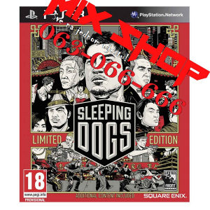 ORIGINAL SLEEPING DOGS LIMITED za Playstation 3 PS3