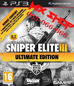 ORIGINAL SNIPER ELITE 3 ULTIMATE za Playstation 3 PS3