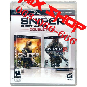SNIPER GHOST WARRIOR DOUBLE PACK 1/2 Playstation 3 PS3