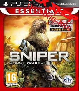 SNIPER GHOST WARRIOR ESSENTIALS za Playstation 3 PS3