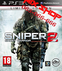SNIPER GHOST WARRIOR 2 LIMITED za Playstation 3 PS3