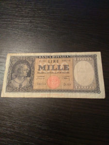1000 lira 1947