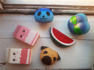 Jumbo Squishy Toys za Stiskanje Ljigavac Guma Toy