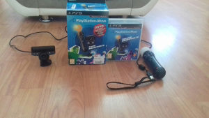 Sony PS Move sa kamerom i joystickom za to